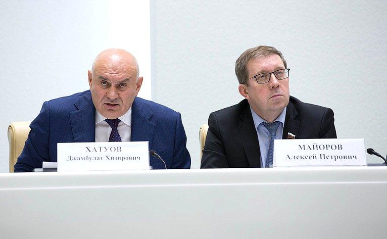 Джамбулат Хатуов иАлексей Майоров