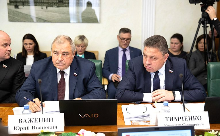 Юрий Важенин иВячеслав Тимченко
