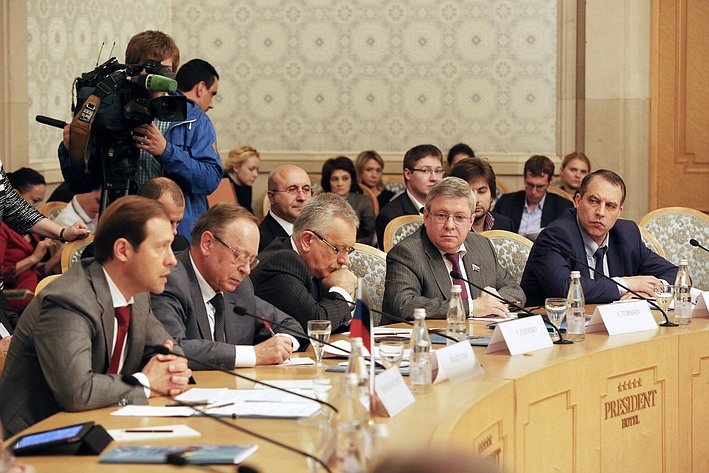 Александр Торшин принял участие в пленарном  заседании  Межправительственной Российско-Венесуэльской комиссии 2
