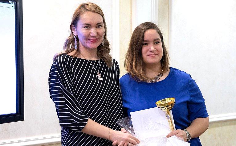 Церемония награждения победителей Всероссийского мастер-класса учителей родного, втом числе русского языка