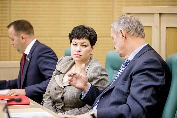 353 заседание СФ Кононова и Горбунов