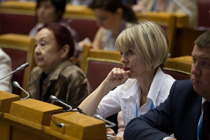 Первый Евразийский женский форум. Пленарное заседание