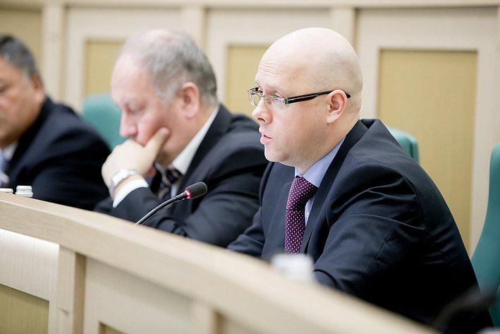 Беляков 380-е заседание Совета Федерации