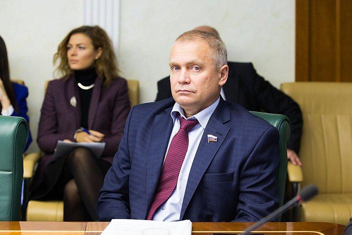 И. Ахметзянов Расширенное заседание Комитета Совета Федерации по аграрно-продовольственной политике и природопользованию