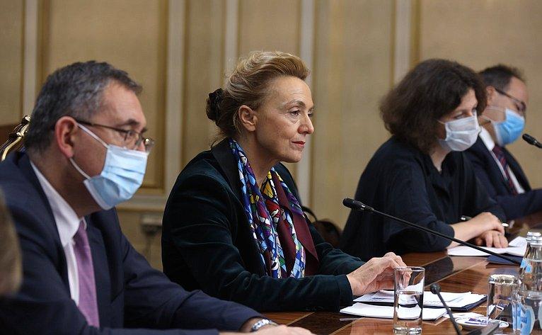Встреча Валентины Матвиенко сГенеральным секретарем Совета Европы Марией Пейчинович-Бурич