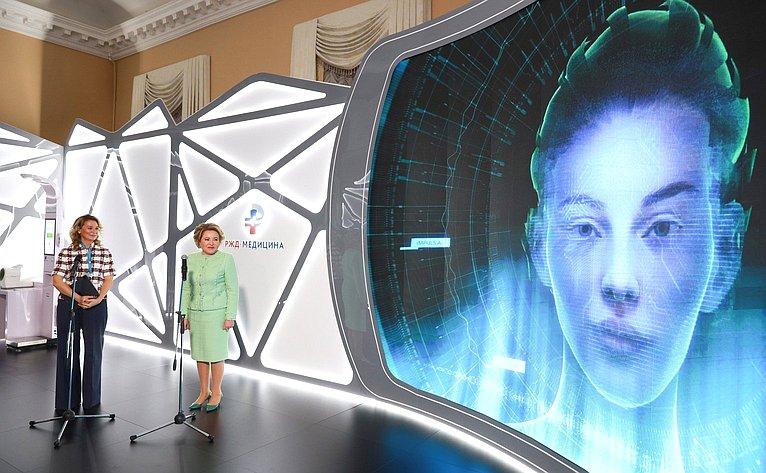 Презентация кабинета медицины будущего врамках открытия платформы «Женщины заздоровое общество»