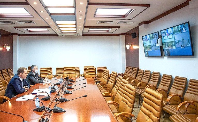 Заседание Совета повопросам газификации субъектов РФ