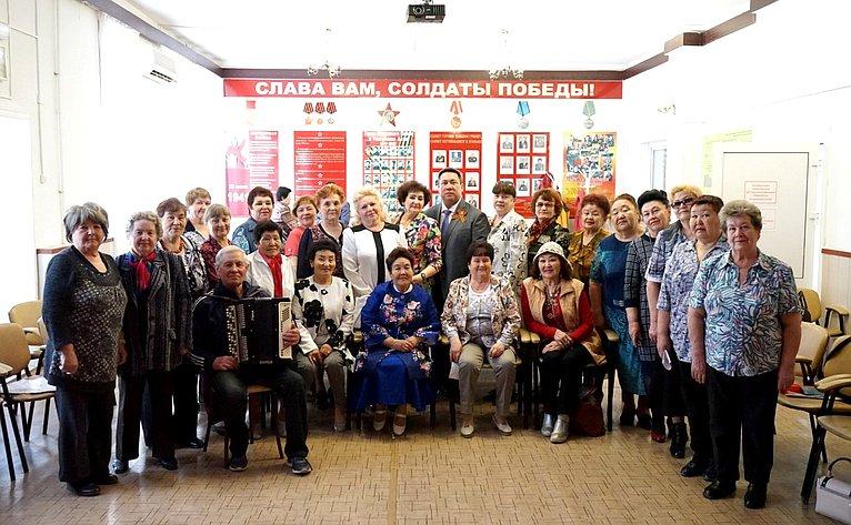 Вгородском Доме ветеранов Горно-Алтайска