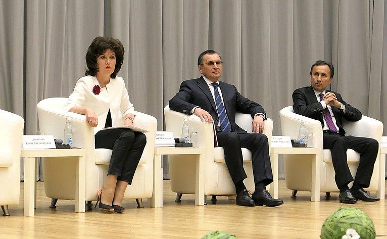Члены Совета Федерации приняли участие вработе II Всероссийского водного конгресса