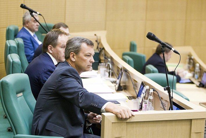 356 заседание СФ Яцкин