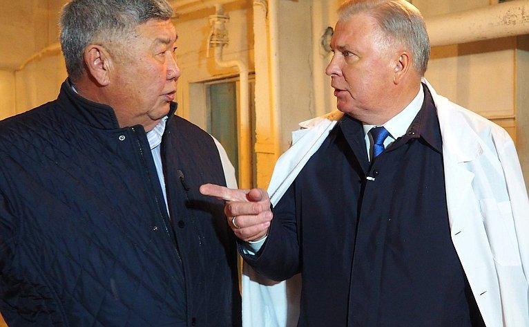 Вячеслав Наговицын побывал наптицефабрике вУлан-Удэ