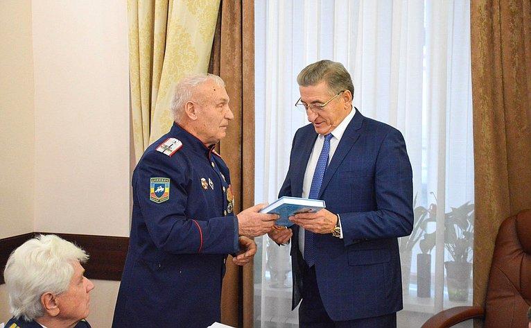 Сергей Лукин провел врегионе личный прием граждан