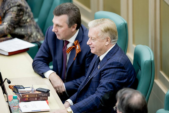 373-е Заседание Совета Федерации Тягачев