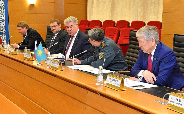 Визит делегации СФ вАстану (Казахстан) срабочим визитом
