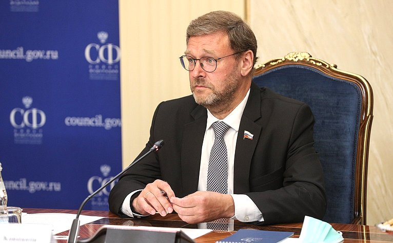 Заместитель Председателя СФ Константин Косачев