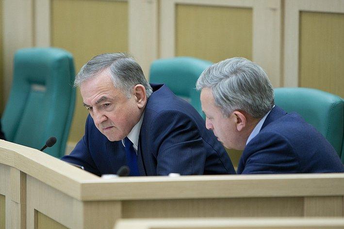 Бирюков 383-е заседание Совета Федерации