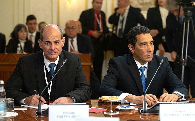 Встреча Валентины Матвиенко сПредседателем Государственного Совета иСовета Министров Республики Куба Мигелем Диас-Канелем Бермудесом