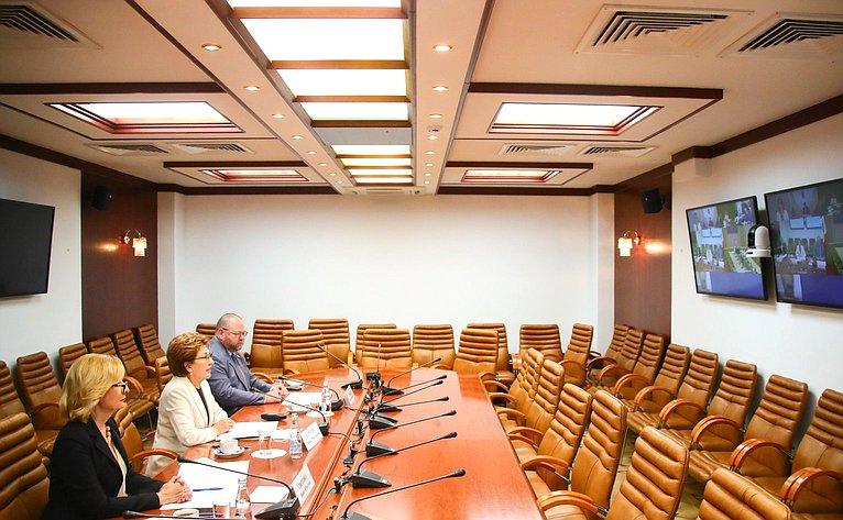 Заседание Совета посоциальным инновациям субъектов РФ