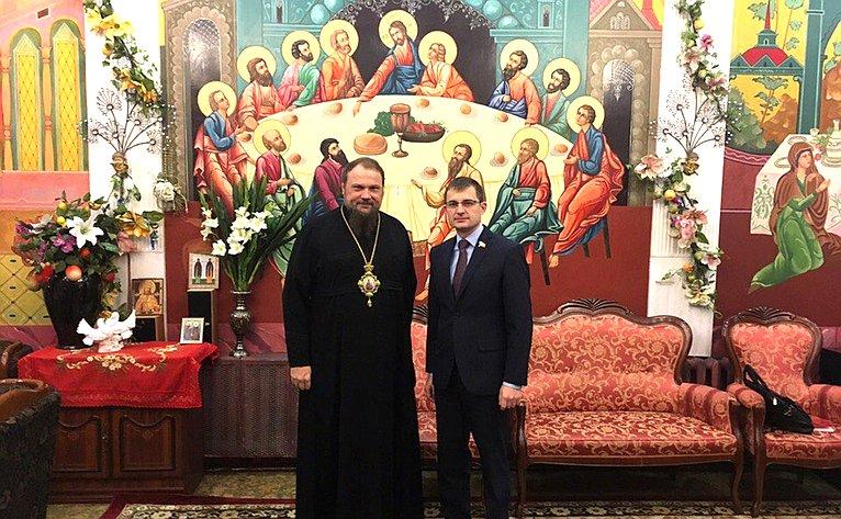 Дмитрий Шатохин встретился сархиепископом Сыктывкарским иКоми-Зырянским Питиримом