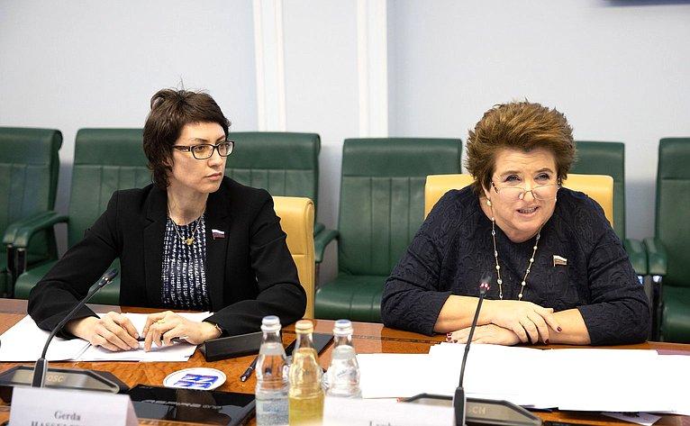 Татьяна Лебедева иЛюбовь Глебова