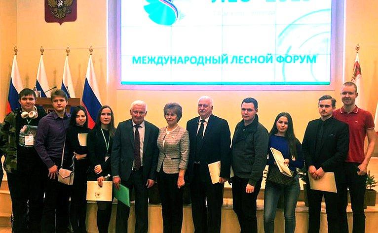 Татьяна Гигель приняла участие воткрытии 24-й Международной выставки техники иоборудования «Российский лес» вВологде