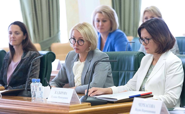 Заседание Организационного комитета второго Евразийского женского форума