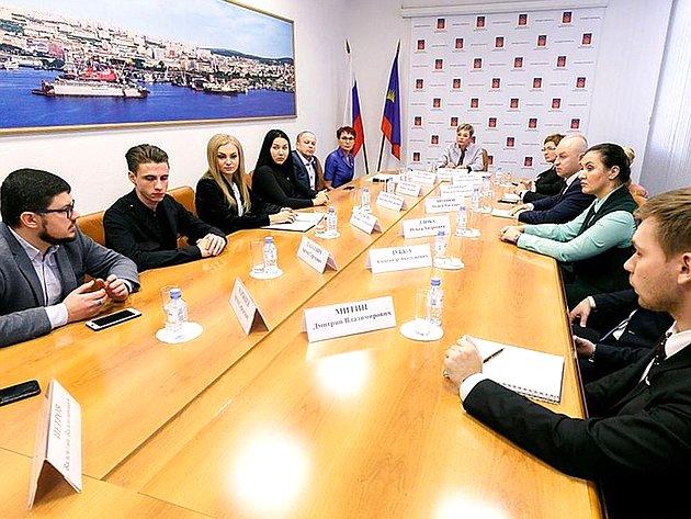 Татьяна Кусайко приняла участие всовещании губернатора Мурманской области Марины Ковтун спредставителями общественной организации
