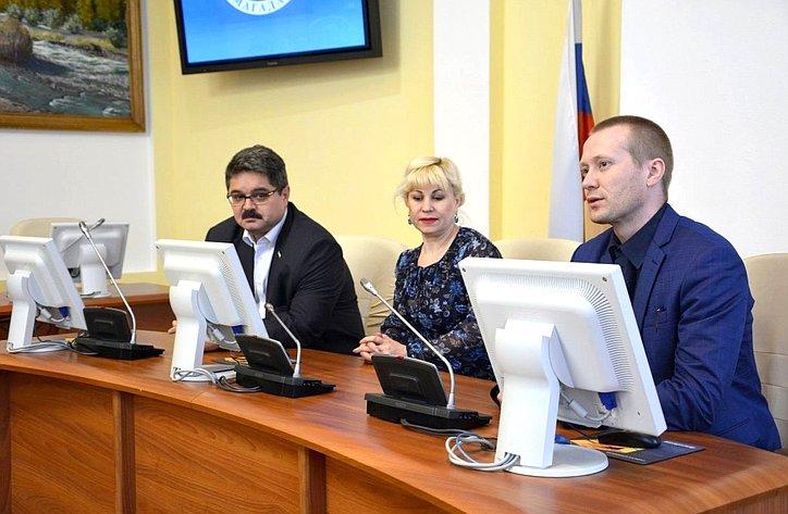 Анатолий Широков принял участие вцеремонии награждения участников ифиналистов проекта «Высшая студенческая школа парламентаризма»