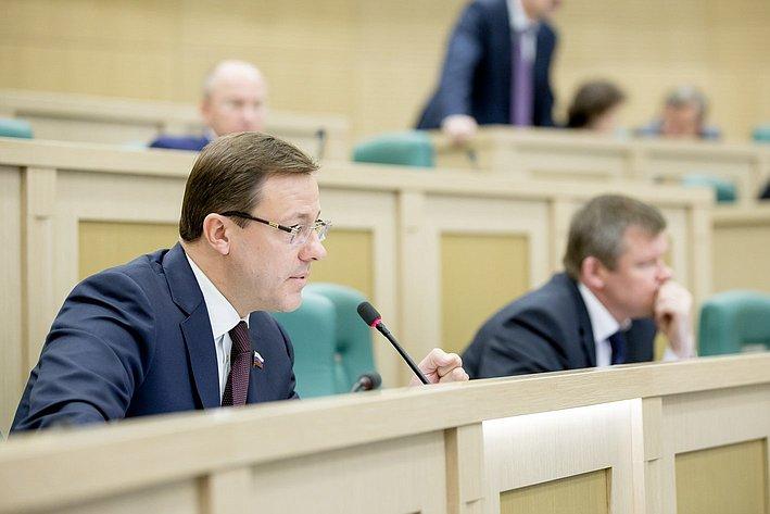 379-е заседание Совета Федерации Азаров