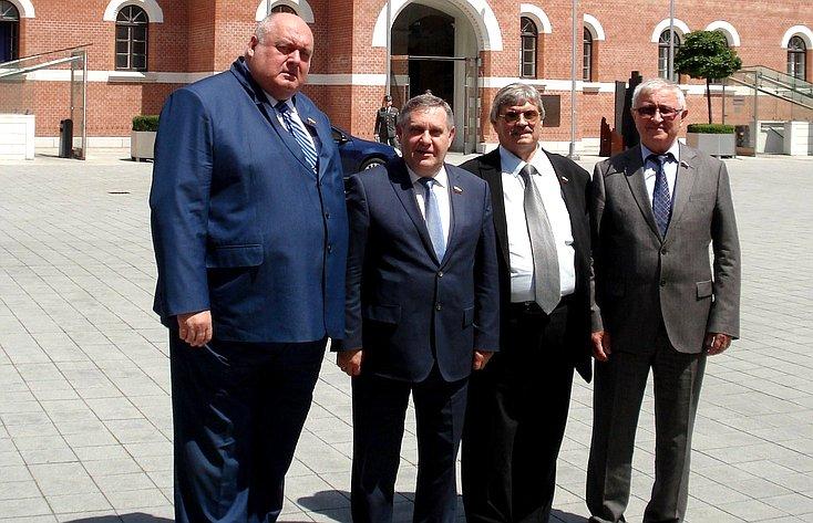 Делегация Комитета СФ пообороне ибезопасности
