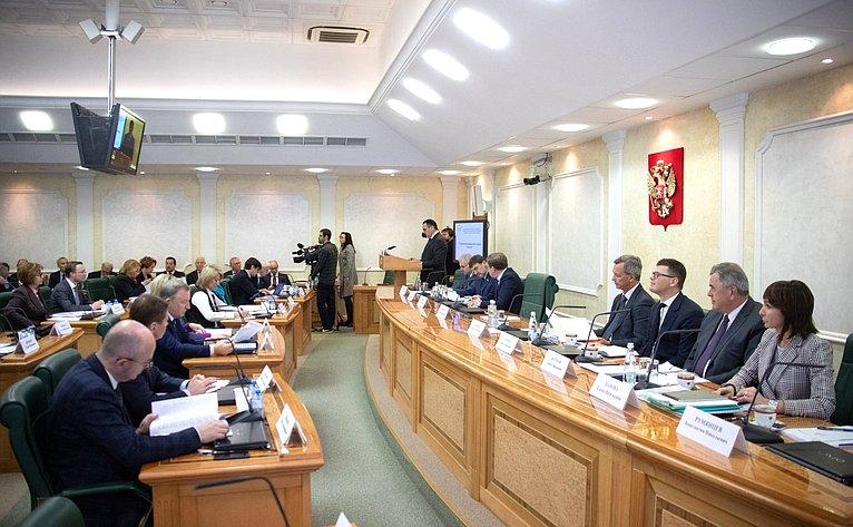 Заседание Совета повопросам агропромышленного комплекса иприродопользования натему «Ореализации национального проекта «Экология»»