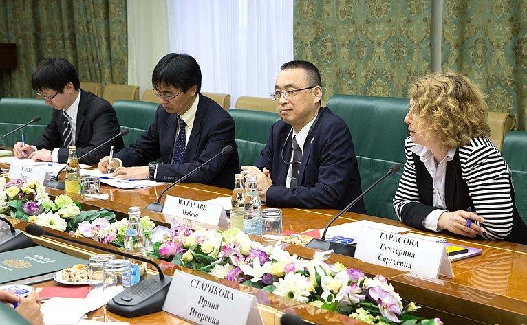 Встреча А. Варфоломеева спредставителями Департамента агентства Японии NEDO