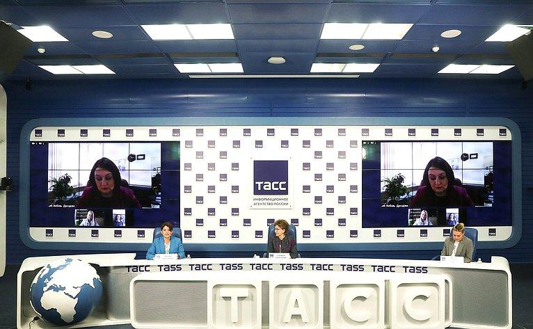 Заместитель Председателя СФ Галина Карелова приняла участие впресс-конференции, посвященной старту второго потока образовательной программы «Женщина-лидер»