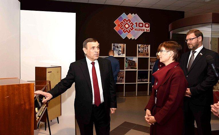 Константин Косачев обсудил сруководством Республики Марий Эл работу попроведению Дней региона вСовете Федерации