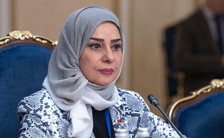 Встреча В. Матвиенко сПредседателем Палаты депутатов Национального собрания Королевства Бахрейн Фаузией Абдалла Зейнал