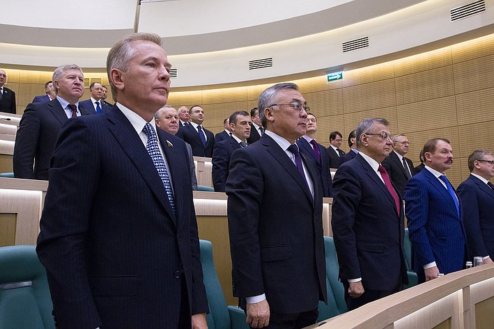 342-е заседание Пономарев В, Жамсуев, Жиряков, Белоусов СФ-7