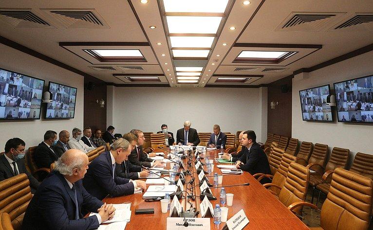 Семинар-совещание Аналитического управления Аппарата СФ совместно сКомитетом СФ поаграрно-продовольственной политике иприродопользованию