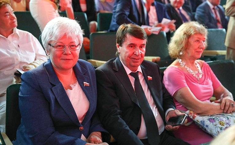 Ольга Тимофеева иСергей Цеков