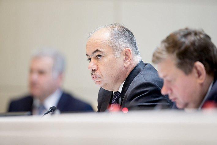 377-е заседание Умаханов
