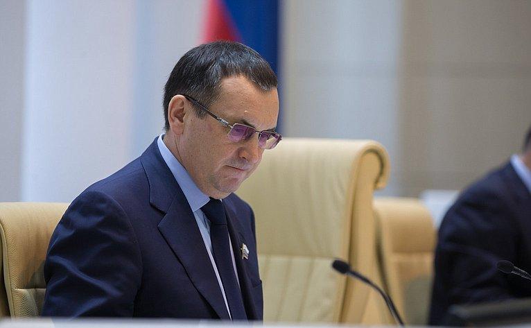 Н. Федоров на386-м заседании Совета Федерации