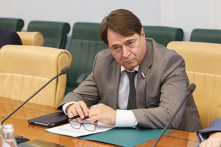 Заседание комиссия СФ по контролю за достоверностью сведений о доходах сенаторов -5 Шатиров