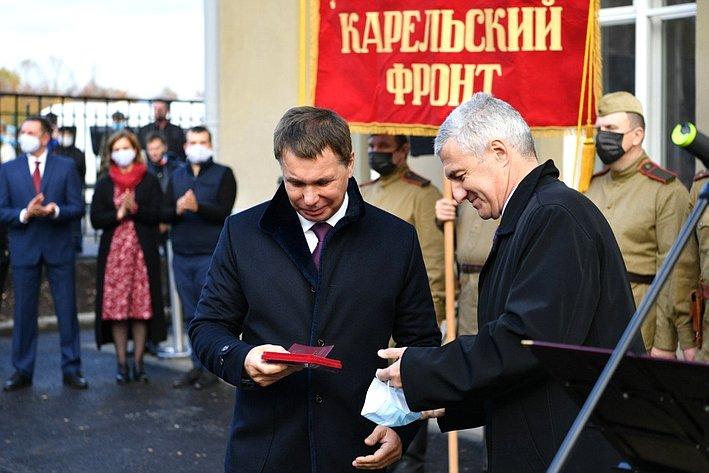 Игорь Зубарев принял участие воткрытии Музея Карельского фронта вБеломорске