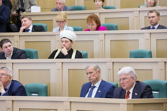 Рождественские парламентские встречи