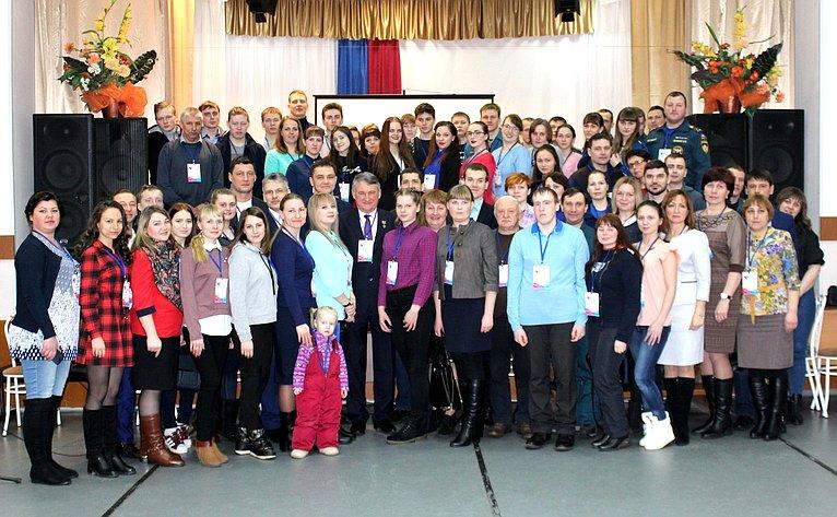 Юрий Воробьев принял участие вмолодёжном форуме «Мы– будущее страны»