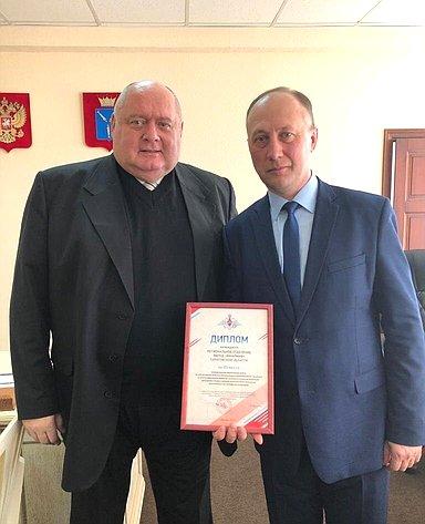 Сергей Аренин провел встречу спредставителями движения «ЮНАРМИЯ» Саратовской области