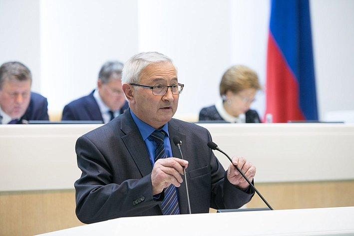 Дидигов 383-е заседание Совета Федерации