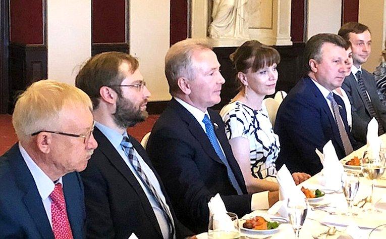 14-е заседание российско-германской группы дружбы Бундесрата Федеративной Республики Германия иСовета Федерации