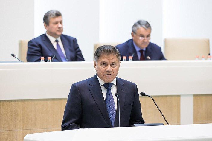356 заседание СФ Лебедев