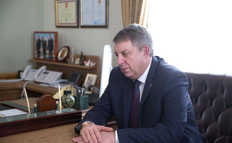 Губернатор Брянской области А. Богомаз