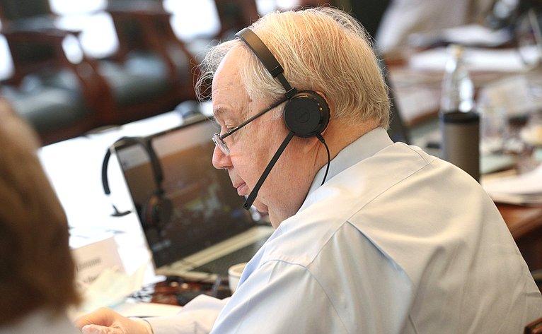 Участие сенаторов РФ взаседании сессии ПАСЕ